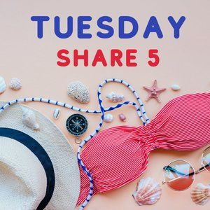 NEW LISTING!!!  TUESDAY Share Any 5 Group